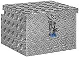 Deichselbox, Premium, aus Alu Riffelblech 2,5/4 mm, Staubox, Truckbox, Werkzeugkasten, Gurtkiste - B...