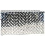 JUMBO Alluminium Riffelblech-Box Alu 250 Liter ALUT250 L 1022 x B 500 x H 500 mm ALU-Box Kiste...
