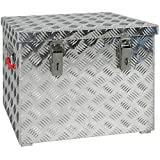 JUMBO Aluminium Riffelblech-Box Alu 70 Liter ALUT70 L 522 x B 375 x H 415 mm ALU-Box Kiste...