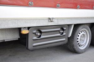 Staubox aus Alu für LKW