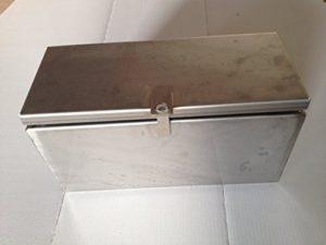 Transportbox Edelstahl